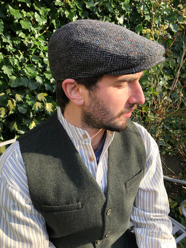 Hatman of Ireland Flat Cap Grey