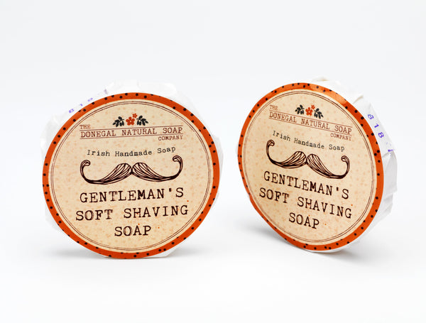 Donegal Natural Gentleman's Soft Shaving Soap