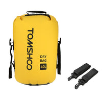 TOMSHOO 40L Outdoor Waterproof Dry Bag Swimming Bag Sack Storage Bag for Travelling Rafting Boating Kayaking Canoeing Camping