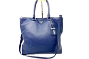 Prada Navy Leather Tote