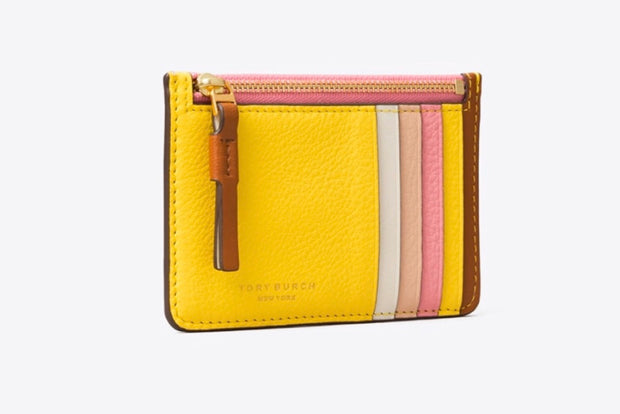 Tory Burch Robinson Zipped Card Case