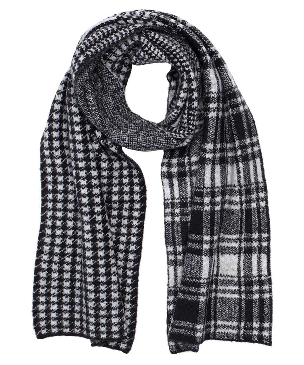 ECHO Mixed Plaid Scarf