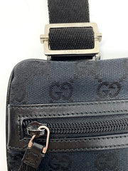 Gucci Black Flat Crossbody