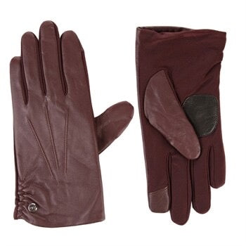 ECHO Classic Leather Superfit Glove- Maroon