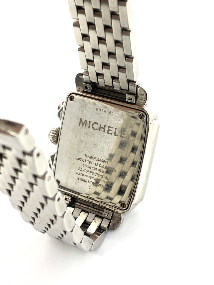 Michele Deco Watch with Diamonds