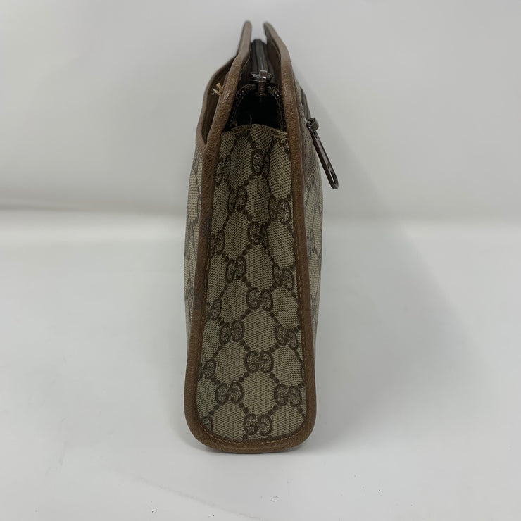 Gucci Supreme Canvas Clutch
