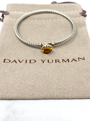 David Yurman Châtelaine Bracelet with Citrine