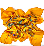 Hermes Paris Modiste Silk Scarf