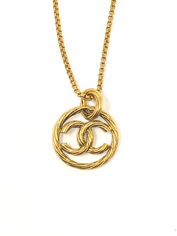 Chanel Repurposed Charm Necklace