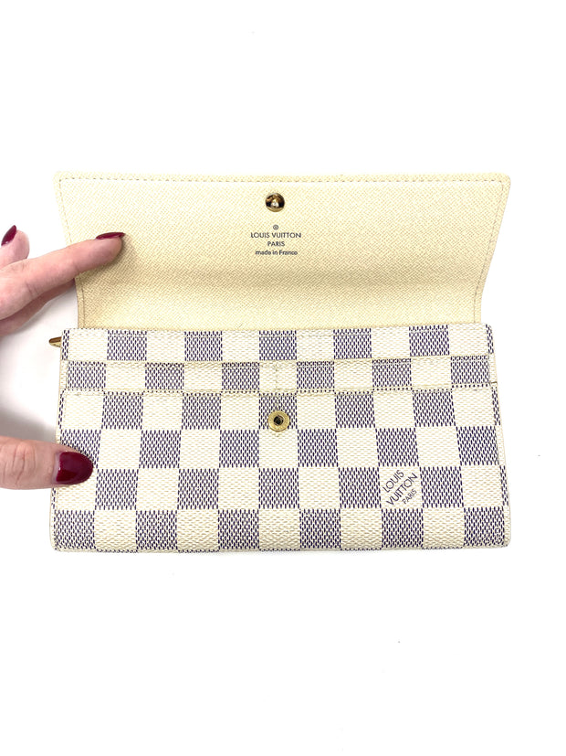 Louis Vuitton Damier Azur Sarah Wallet