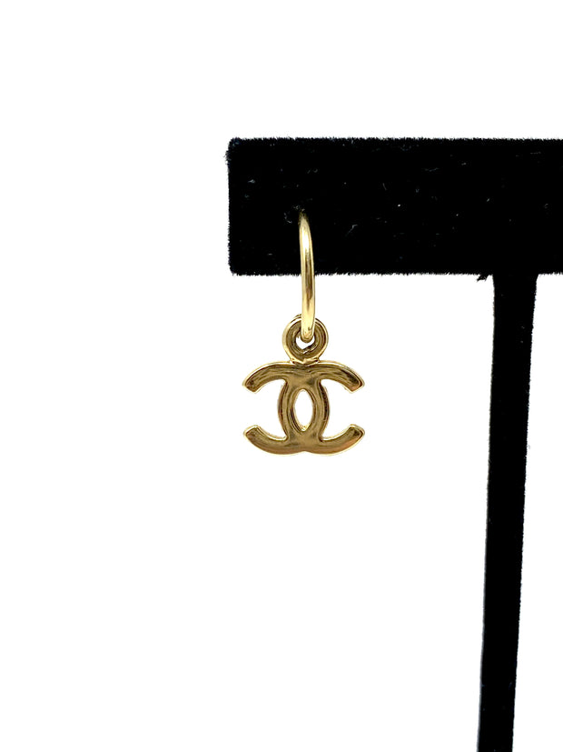Chanel Sailboat Charm Earrings