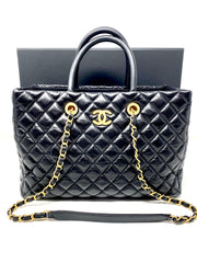 Chanel Coco Vintage Timeless Shopping Tote