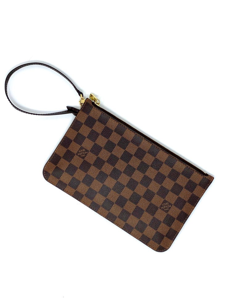 Louis Vuitton Damier Neverfull Pouch