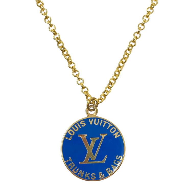 Louis Vuitton Repurposed Charm Necklace