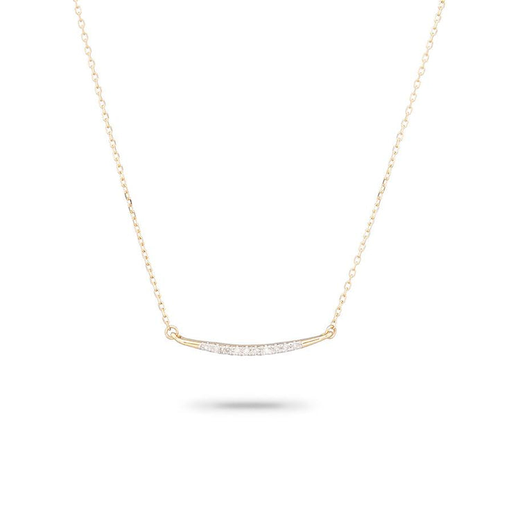 Adina Reyter Small Pavé Curve Necklace