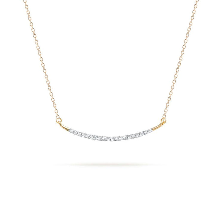 Adina Reyter Large Pavé Curve Necklace