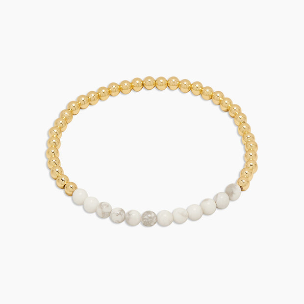 Gorjana Power Gemstone Aura Bracelet- Calming