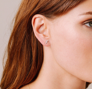 Adina Reyter Scattered Diamond Stud Earrings