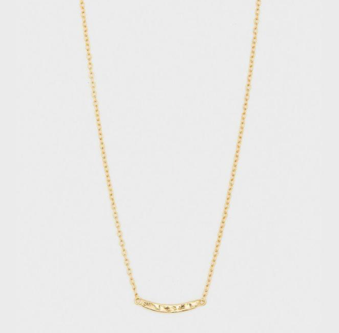 Gorjana Taner Bar Mini Necklace