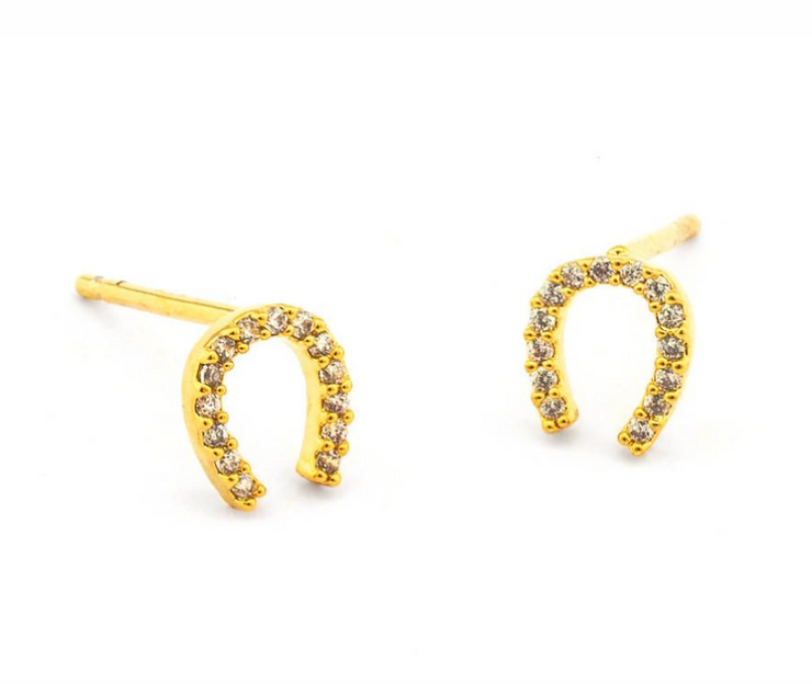 Tai Mini Horseshoe Earrings