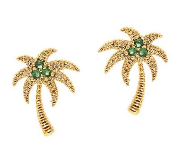 Tai Palm Tree Studs
