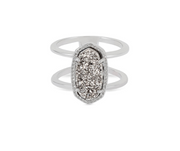 Kendra Scott Elyse Ring In Silver