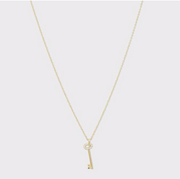 Gorjana Kara Key Charm Necklace