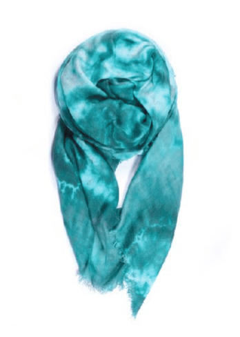 Fig & Bella Modern Camo Scarf: Sea Foam