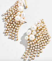Baublebar Evelyn Pearl Ear Crawlers