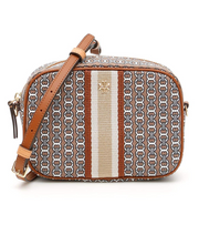 Tory Burch Gemini Link Camera Bag- Light Umber