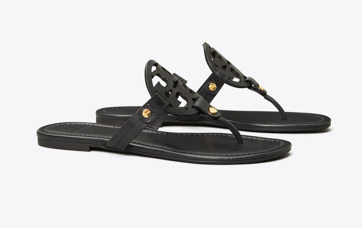 Tory Burch Miller Sandal- Black