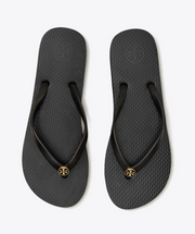 Tory Burch Thin Black Flip Flop