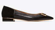 Tory Burch Gigi Pointy Toe Flat- Black