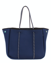 Annabel Ingall Sporty Spice Neoprene Tote- Navy
