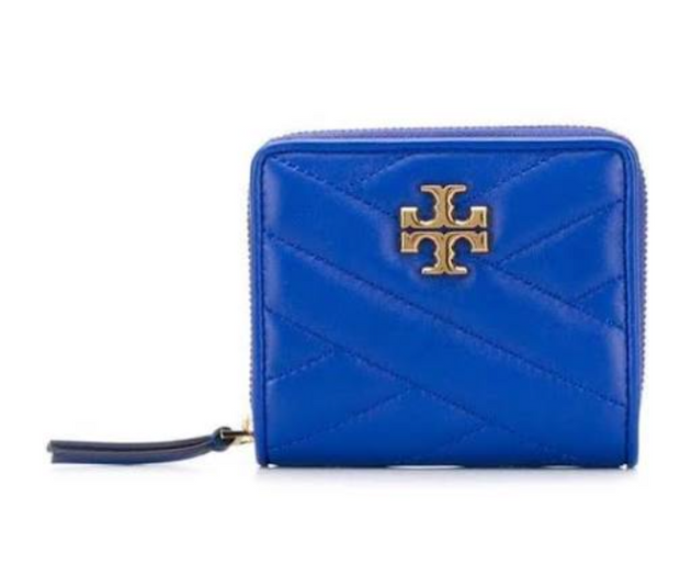 TORY BURCH KIRA CHEVRON COMPACT WALLET