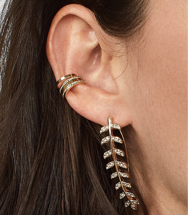 Baublebar Celosia Leaf Drop Earring