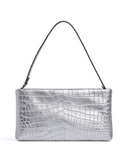 Rebecca Minkoff Embossed Zip Top Clutch