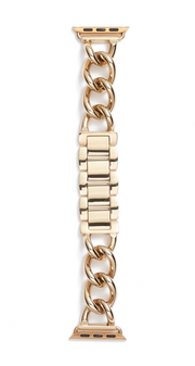 Bezels and Bytes Apple Watch Band - Gold