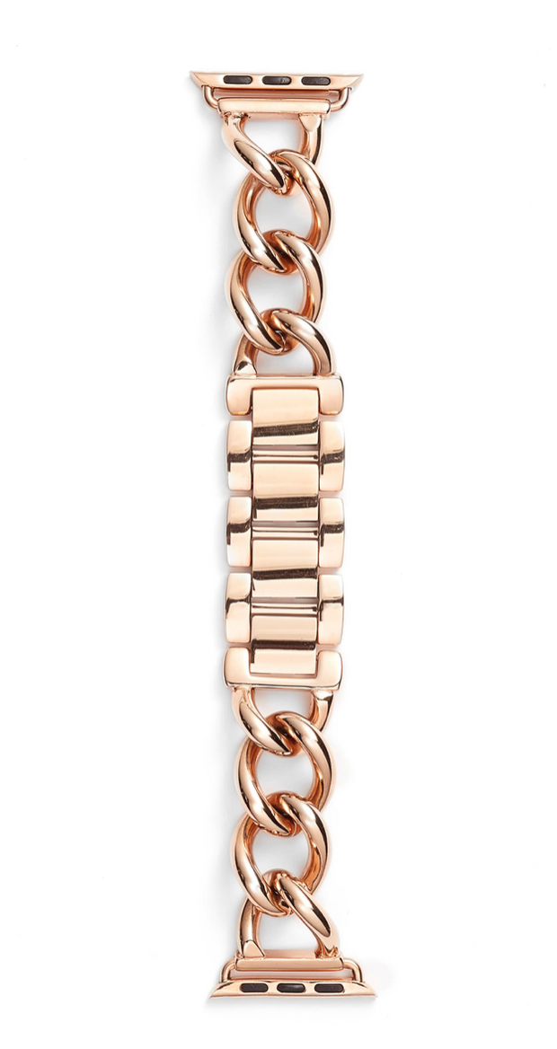 Bezels and Bytes Apple Watch Band - Rose Gold