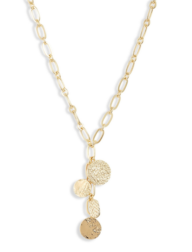 Gorjana Banks Mixed Coin Lariat