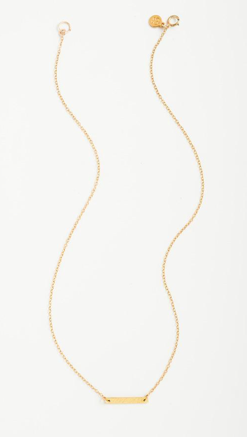 Gorjana Knox Necklace