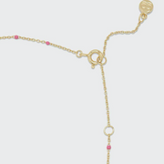 Gorjana Capri Necklace- Pink