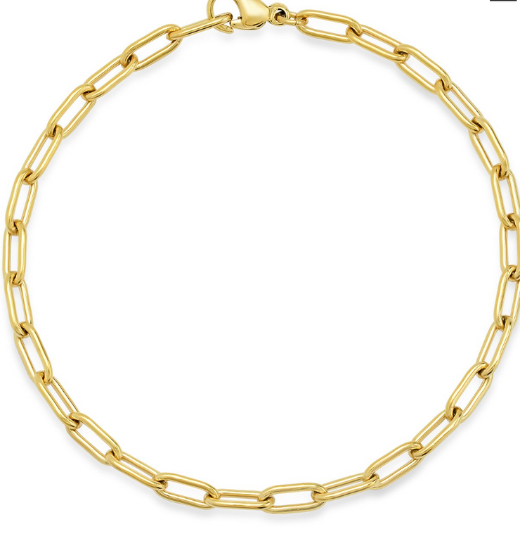 Tai Small Oval Cable Link Bracelet