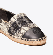 Tory Burch Wool Color-Block Espadrille