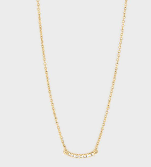 Gorjana Shimmer Mini Necklace- Gold