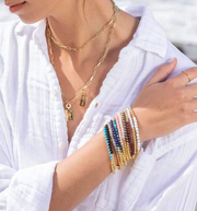 Gorjana Power Gemstone Aura Bracelet- Self-Expression