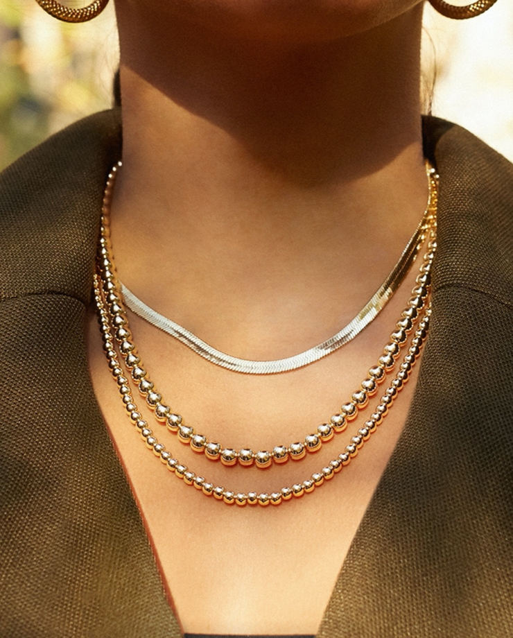 Baublebar Gia Herringbone Necklace