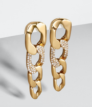 Baublebar Michel Curb Chain Drop Earrings