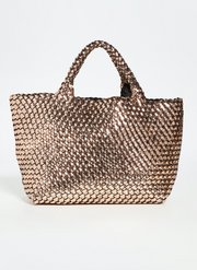 Naghedi St. Barths Small Tote - Rose Quartz