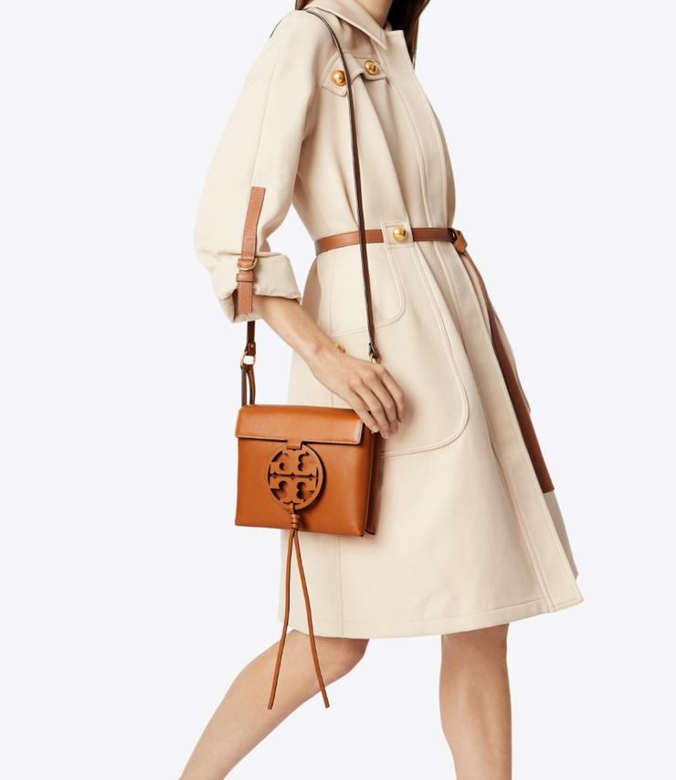 Tory Burch Miller Cross-Body - Aged Camello